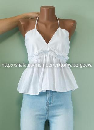 Большой выбор блуз - шикарная блуза с красивым декольте