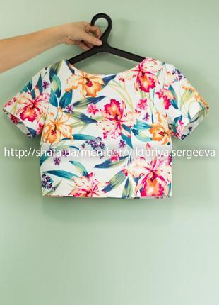 Большой выбор блуз - безумно красивая фактурная нежная блуза в цветы