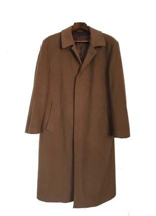 Шерстяное пальто massimo datti