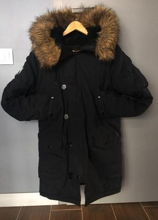 Alpha industries куртка аляска altitude n-3b parka