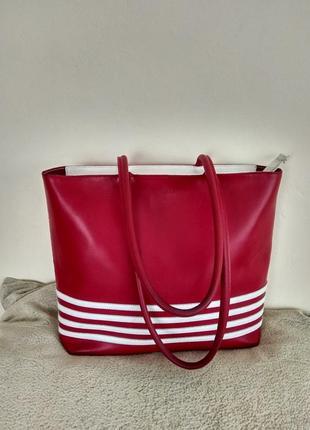 Кожаная сумка furla.италия
