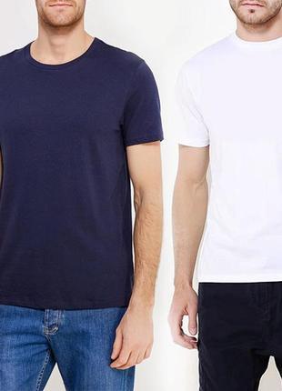 Комплект базовых однотоных футболок 100% хлопок размеры испания