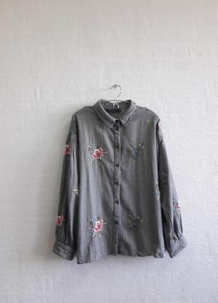 Стильная блузка, бренда topshop , подойдет на 50,52 р.