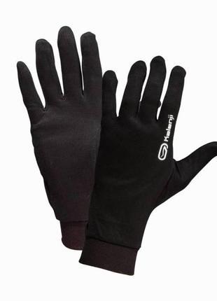 Перчатки для бега kalenji беговые спортивные со светоотражающей надписью