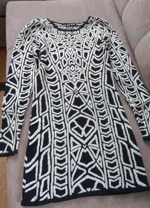 Распродажа!!!тёплое трикотажное платье