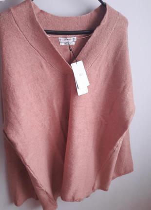 Шикарний шерстяний новий светр-туніка (свитер-туника) mango m l xl 60116db15686f