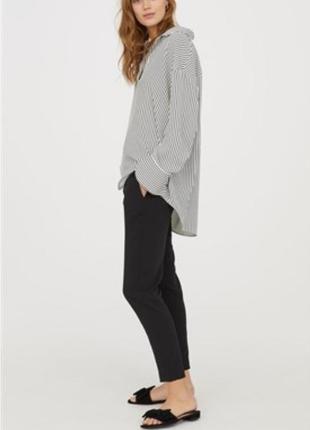 Базовые черные брюки, чиносы от h&m