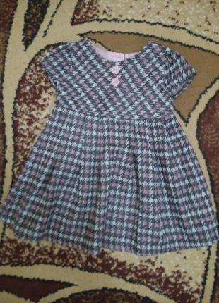 6-9 мес. оригинальное платье для вашей красотки baby m&co