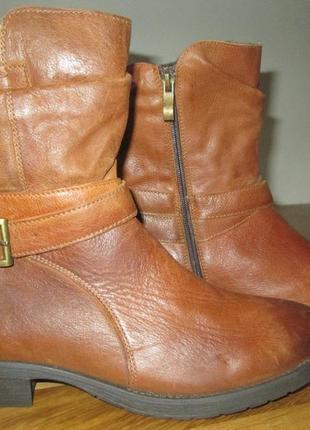 Cапоги ботинки lasocki р.38.натру.кожа.оригинал.сток