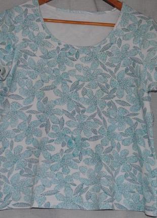 Красивая нежная футболка очень хорошего качества