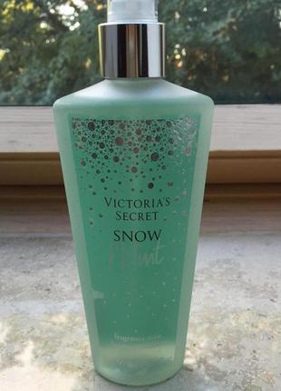 Cпрей для тела victoria's secret snow mint