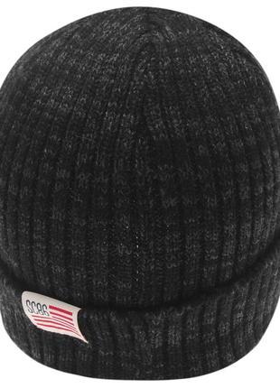 Soulcal теплая серая мужская шапка