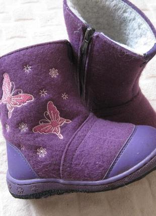 Валенки, сапоги, ботинки, зимние девочке, размер 28