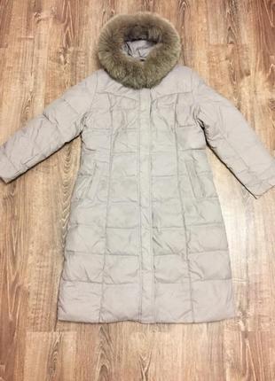 Пуховик женский зимний snow owl+ перчатки в подарок