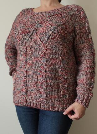 Сильный меланжевый свитер tu