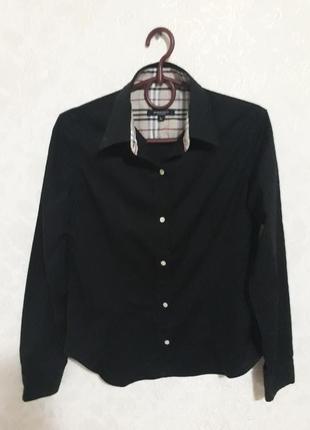 Черная классическая рубашка от burberry london
