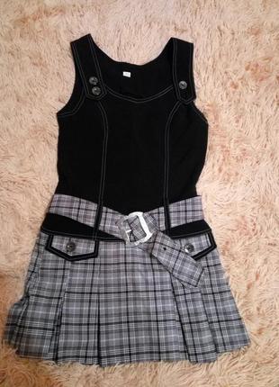 Шкільний костюм ( сарафанчик  піджачок)