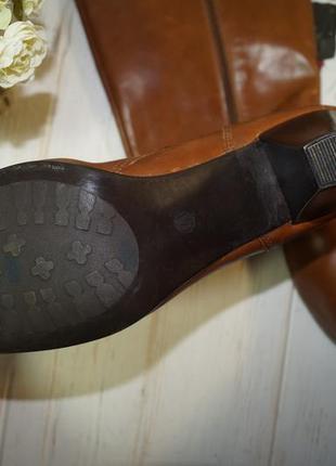 (41/26,5см) pier one! кожа! фирменные красивые сапоги на удобном каблучке3