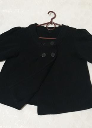 Пиджак разлетайка черный от next