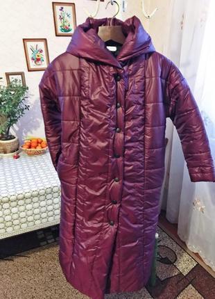 Теплий женский пуховик-одеяло3