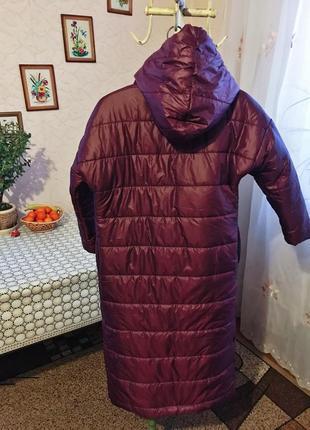 Теплий женский пуховик-одеяло4