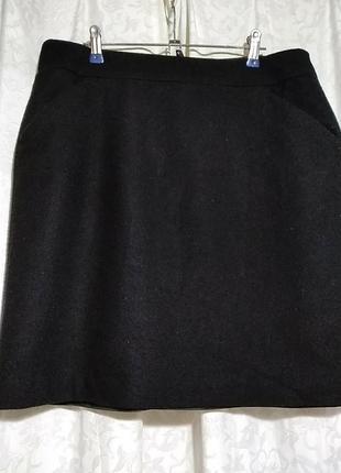 Шерстяная классическая юбка. more&more