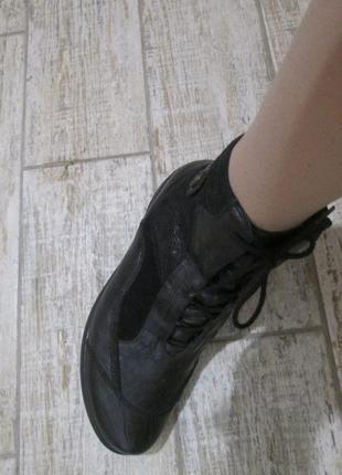 Ботинки waldlaufer р.4.натур.кожа(утепленные)