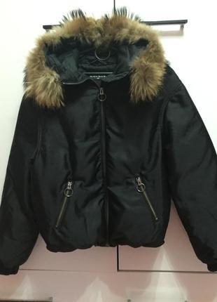 Пуховая куртка savage