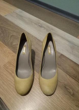 Безумно удобные туфли ecco