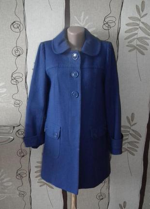 Отличное пальто warehouse трапецией,р.12,можно беременюшке,сток