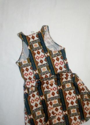 Летнее платье в орнамнт2 фото