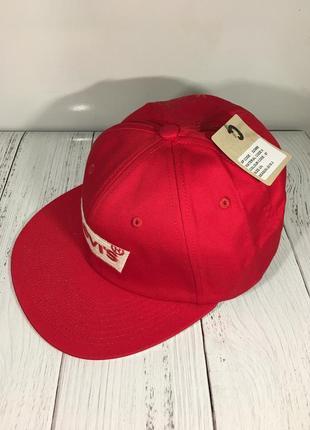 Стильная кепка снэпбэк бейсболка levis оригинал новая с биркой