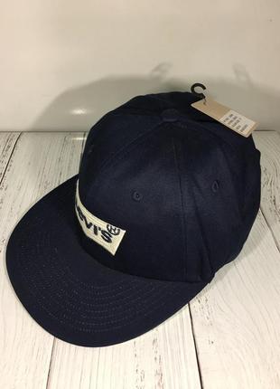 Стильная брендовая кепка снепбек бейсболка levis оригинал новая с биркой недорого1 фото