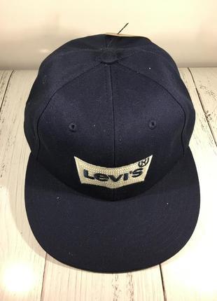 Стильная брендовая кепка снепбек бейсболка levis оригинал новая с биркой недорого4 фото