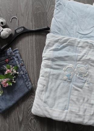 Конверт, кокон, гнездышко для новорожденого с медвежатами