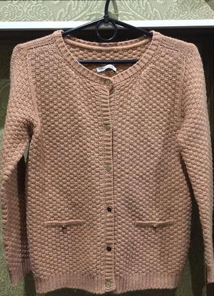 Кофта с шерстью свитер италия
