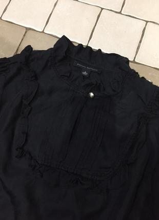 Шелковая блузка рубашка banana republic