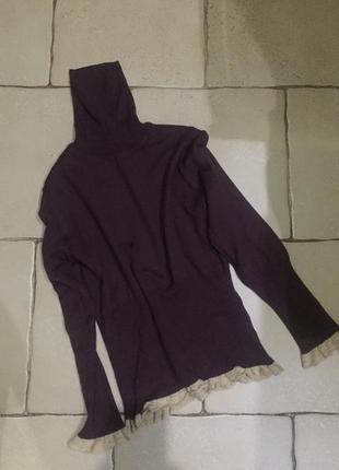 Гольф cortefiel шерсть кофта свитер
