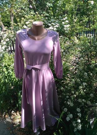 Платье миди hand made
