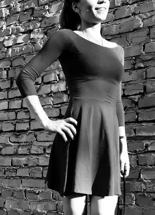 Красивое серое платье, европа, оригинал