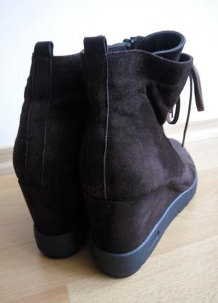 Замшевые ботиночки р.41(27 см)4