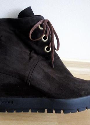 Замшевые ботиночки р.41(27 см)5