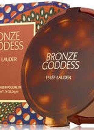 Бронзирующая компактная пудра estee lauder bronze goddess powder bronzer тестер