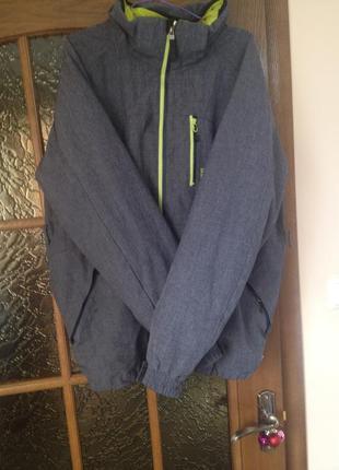 Мужская лыжная курточка k-tec,размер s,идеальное состояние,оригинал