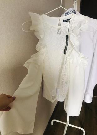 Блуза нарядная boohoo 34 p.