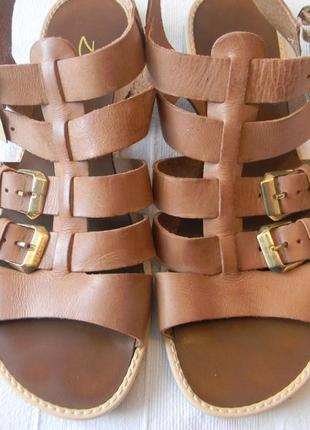Жен.кожаные босоножки сандалии  zign р.41 ст.26см