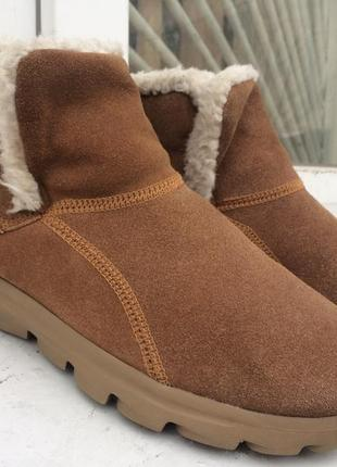 Ботинки skechers chugga imprint 27,3 см