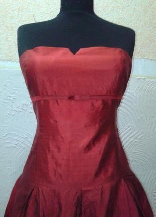 Красное вечернее платье тм monton