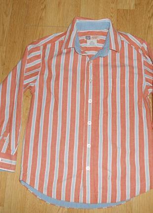 Рубашка на мальчика 8-10 лет