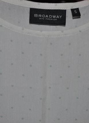 Вискозная блуза broadway